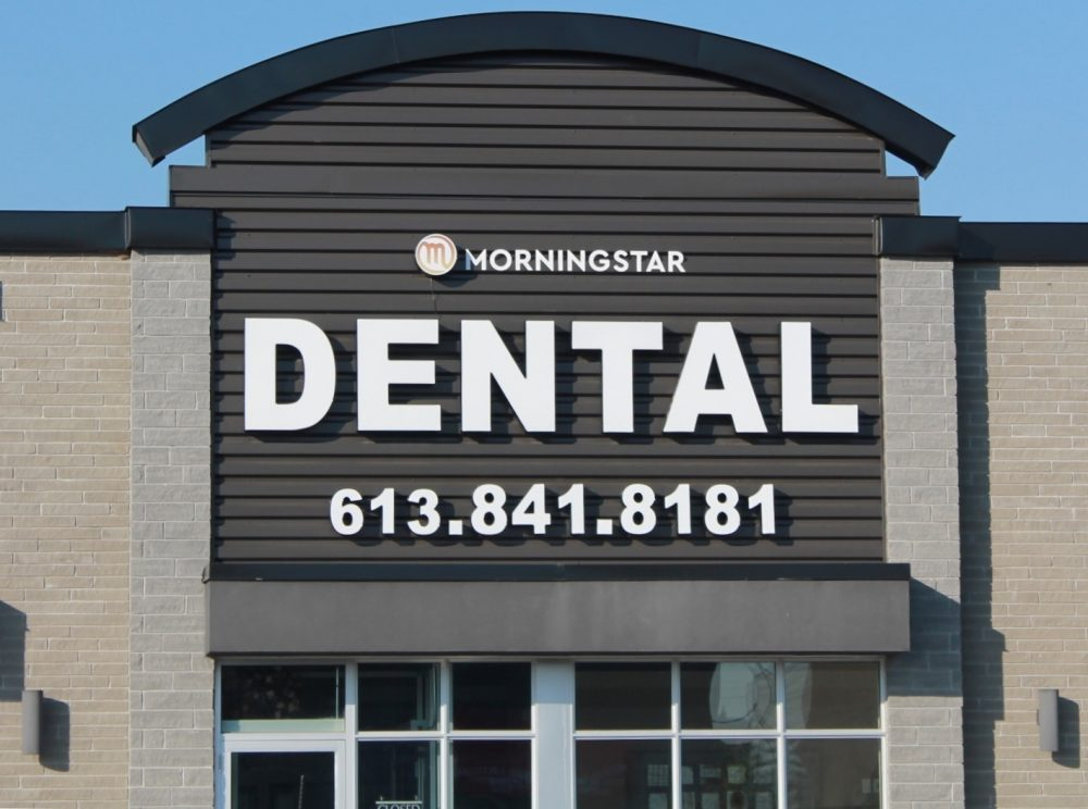 Front Dental Entrance - Morningstar Orleans