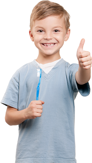 Morningstar dental orleans - kid thumbs up